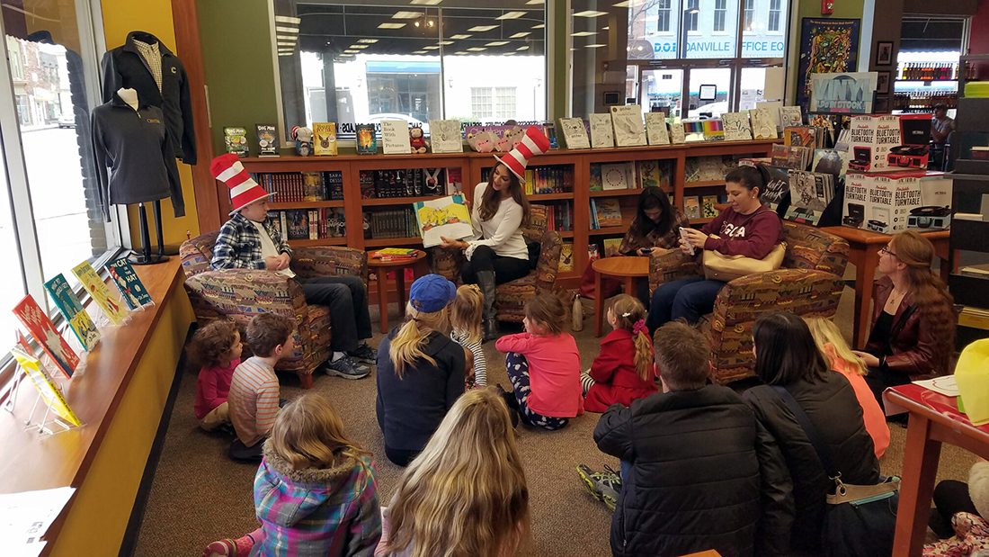 Our Centre College Bookstore team celebrated NEA's Read Across ...